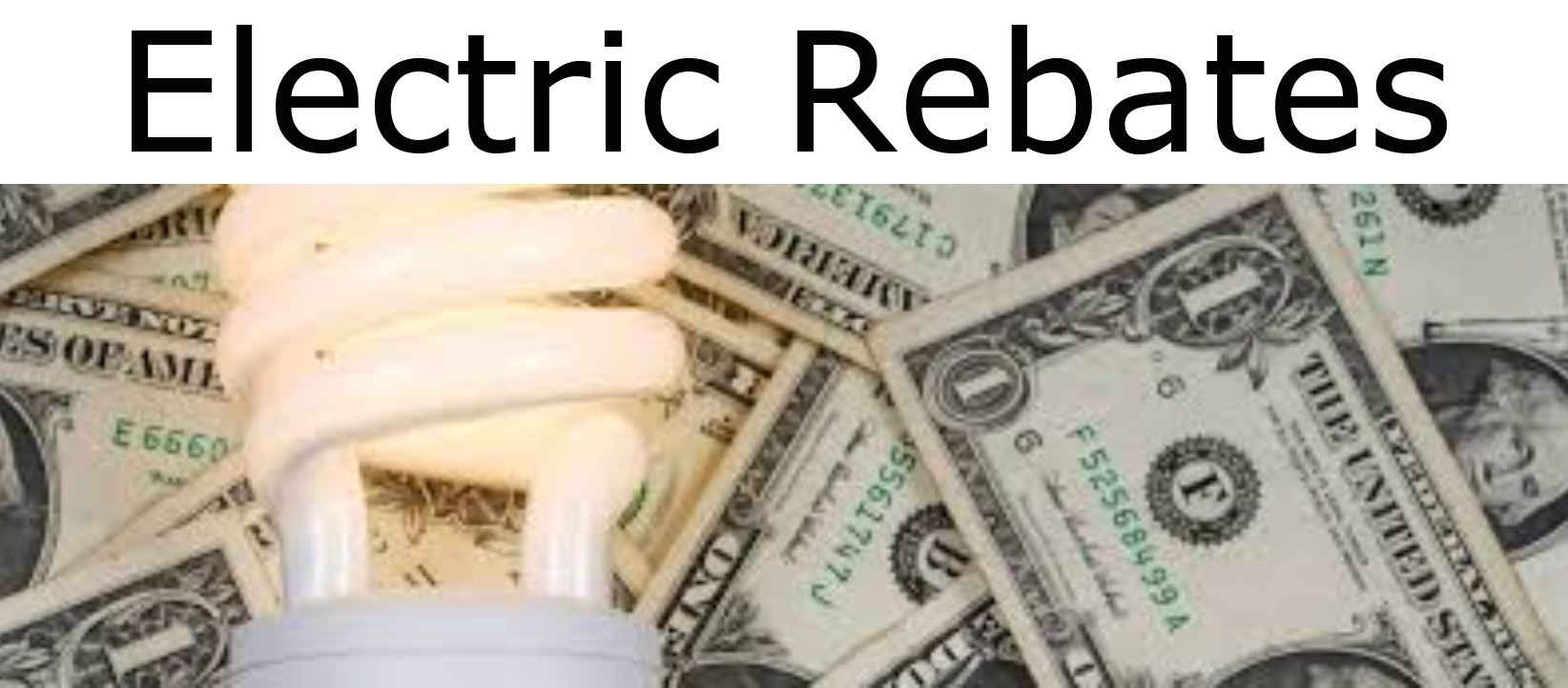 Electric Rebates